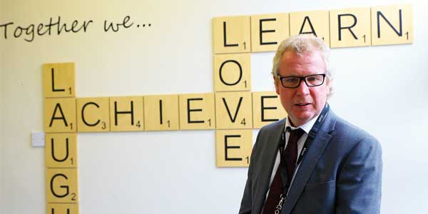 Richard Coakley, headteacher at St Mark's Catholic Primary School