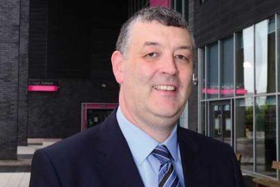 Tony McGuinness, headteacher at All Saints Catholic High School