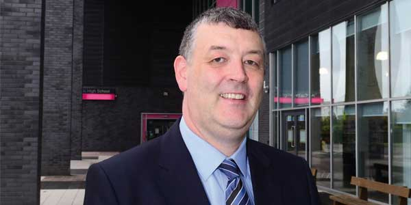 Tony McGuinness, headteacher at All Saints Catholic High School