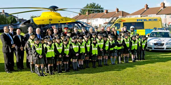 Merseyside's new Mini Police force at Hatton Hill Primary School