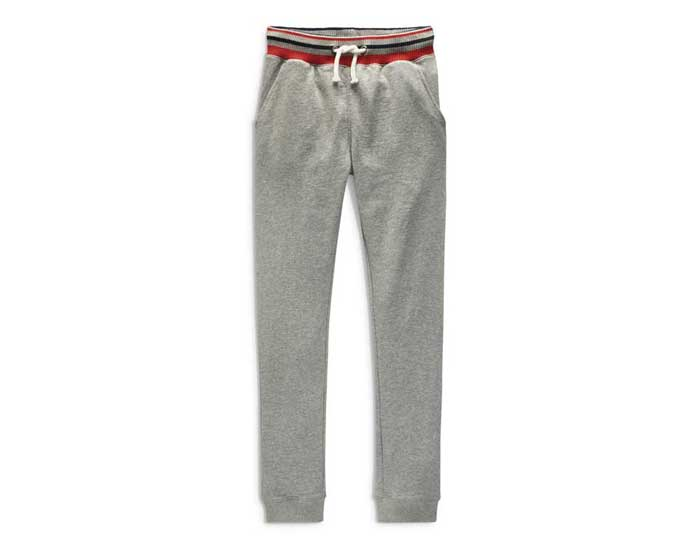 Grey tipped waistband joggers