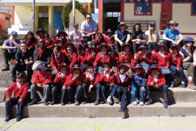 Students have travelled to Peru on previous trips