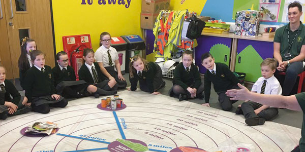 St Laurence pupils visit the Discovery Centre