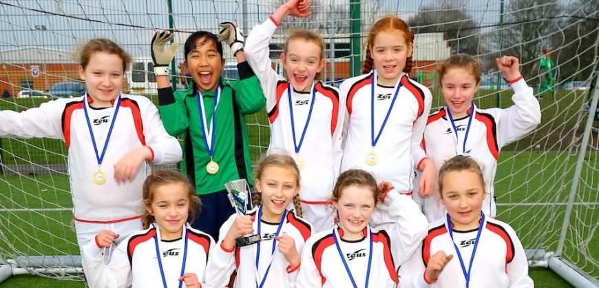 Primary schools girls' football championships
