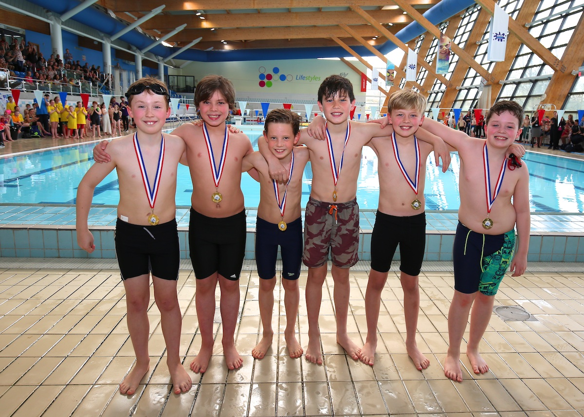 Primary schools rule the pool at swimming championships for Mark morris high school swimming pool