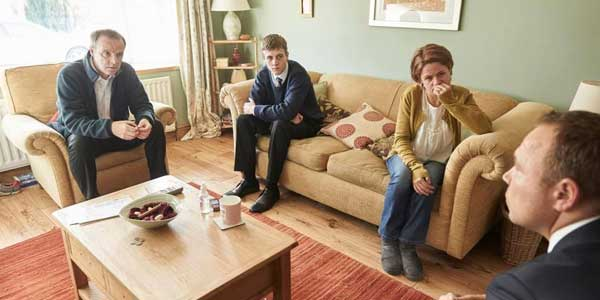 Matthew Roberts makes his acting debut in the ITV drama Little Boy Blue