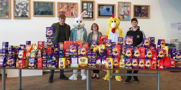 Egg-cellent charity campaign for Rainford High