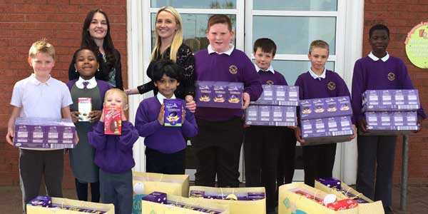 Easter surprise for Whitefield Primary School