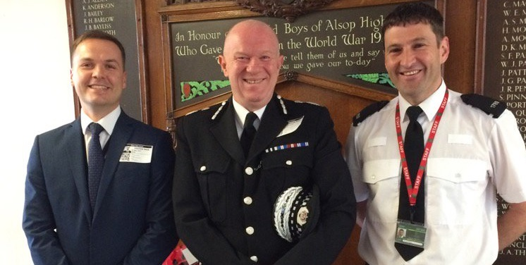 "Merseyside Chief Constable invites Alsop students to ""make their voice heard"""