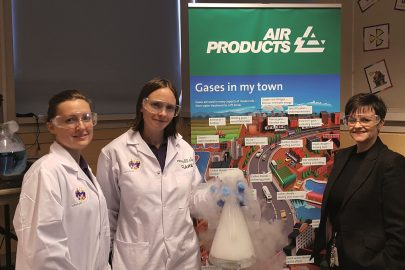 Lynn Willacy, Community and STEM Ambassador at Air Products