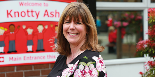 Meet the Headteacher Roanne Clements-Bedson, headteacher at Knotty Ash Primary School