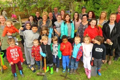 Roscoe Primary School cleanup