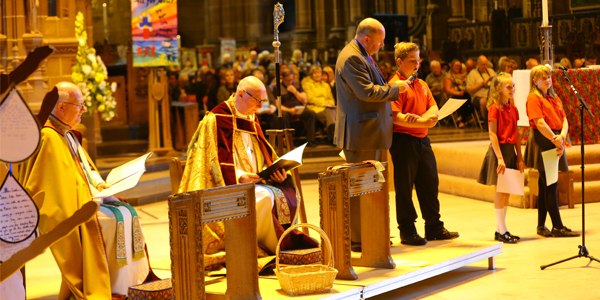 Cathedral host leavers' service celebration