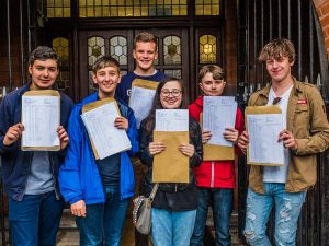 GCSE Results Day Educate Magazine Sacred Heart Catholic College