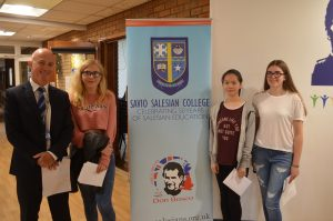 GCSE Results Day Educate Magazine Savio Salesian College