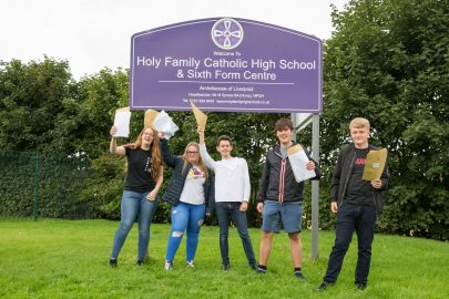 GCSE Results Day Educate Magazine Holy Family Catholic High School