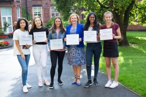A Level Results Day Educate Magazine Merchant Taylor Girls School
