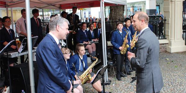 Former Blue Coat pupils help celebrate school's 300th