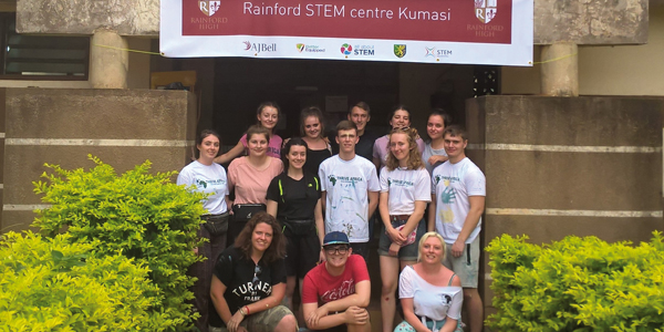 Ghana STEM Educate Magazine Rainford Sixth Form