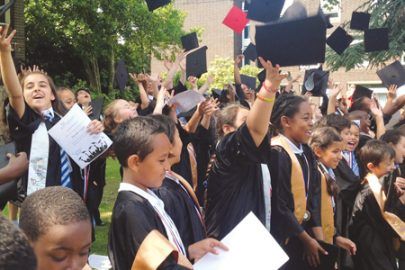 Graduation ceremony Educate Magazine St Anne's Primary School
