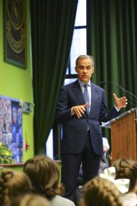 Alsop High School Educate Magazine Mark Carney