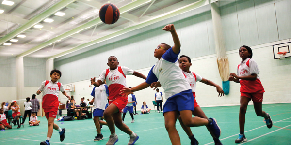Basketball Educate Magazine New Park Primary School