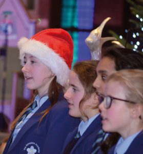 Pupils enjoyed the festive fun