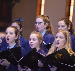 The Belvlings, Belvedere's Year 7 Choir