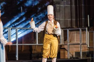 Year 13 student Alexandra Webster as Lumiere