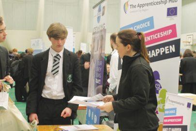 St Margaret's Academy Educate Magazine Careers Fair