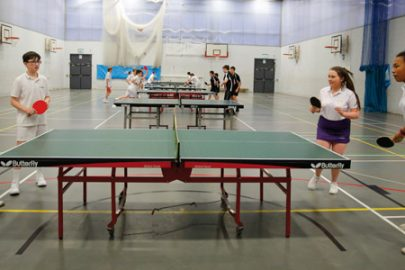St Hilda's Educate Magazine Table Tennis Tournament
