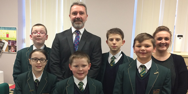 Alsop High School Educate Magazine Numeracy ambassadors