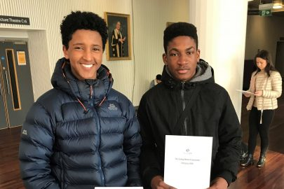 Two Liverpool students from the Academy of St Francis of Assisi win prestigious medicine bursary