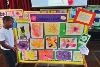 St Christopher's Primary School Educate Magazine Art