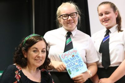 Cathy Cassidy Educate Magazine St Hildas School