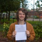 Calderstones student Jay Kuchemann-Scales – A in Physics/A* in History/B in Music