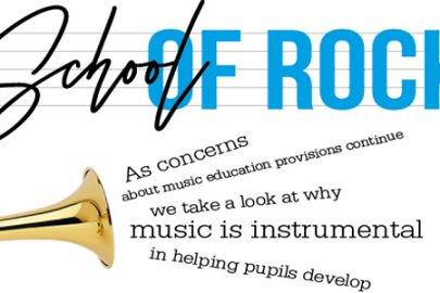 School of rock Educate Magazine