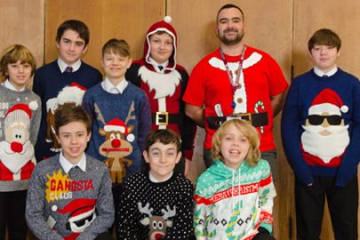 SFX Educate Magazine Christmas Jumper Day
