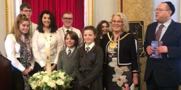 Alsop High School Educate Magazine Holocaust Memorial Day Civic Service