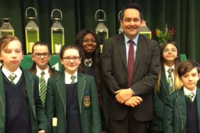 Stephen Twigg MP Educate Magazine Alsop High School