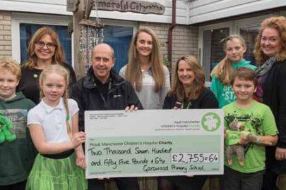 Garswood Primary School Educate Magazine Cheque