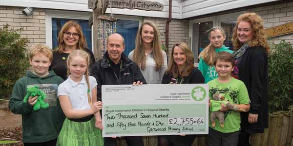 Garswood Primary School Educate Magazine Cheque