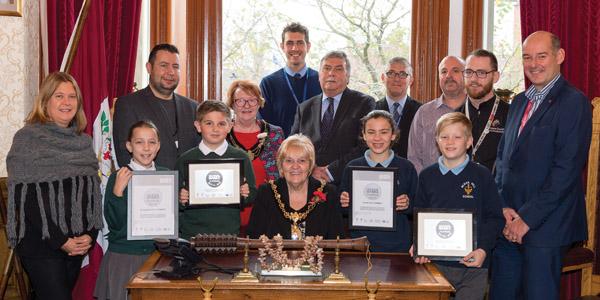St Helens Schools Educate Magazine School Games Mark