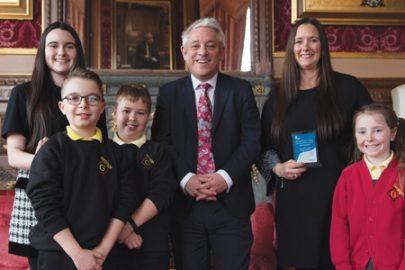 Grange Primary School Educate Magazine Your UK Parliament Award