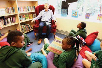 St Ambrose Primary School Educate Magazine Paul Delaney