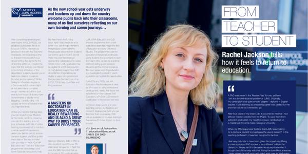 Liverpool John Moores University Educate Magazine
