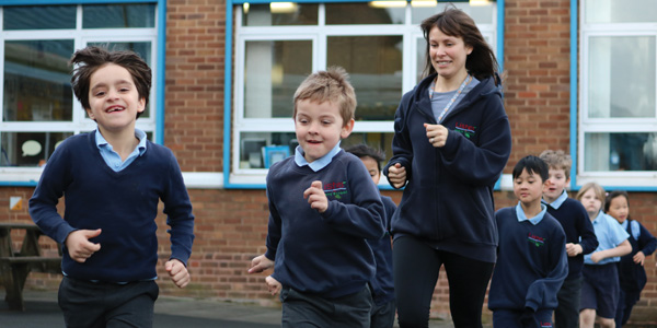 Daily Mile Lister Infant School MSP