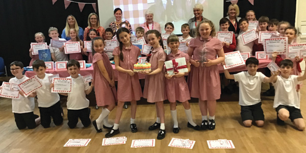 St Anne's Primary School Educate Magazine Bake Off