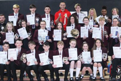 St Cuthbert's Catholic High School educate Magazine Sports Awards