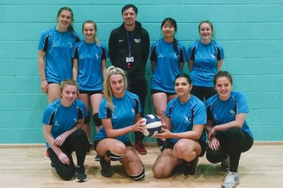 Winstanley College Educate Magazine Volleyball